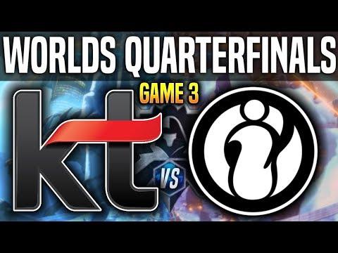 Xxx Mp4 KT Vs IG Game 3 Worlds 2018 Quarterfinals KT Rolster Vs Invictus Gaming G3 Worlds 2018 Quarters 3gp Sex
