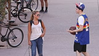 PICKING UP GIRLS WITH STREETBALL MOVES