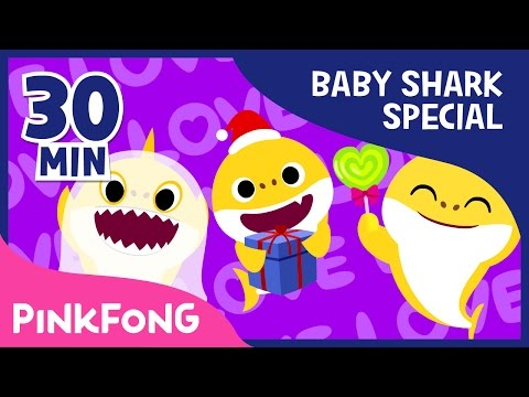 Baby Shark Compilation | Holiday Sharks and more | Animal Songs | Pinkfong Songs for Children