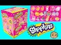 Download Video Download Box of Surprise Eraser Blind Bags  with Stickers + Season 4 Mystery Shopkins -Cookieswirlc 3GP MP4 FLV