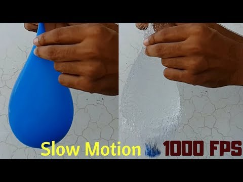 Xxx Mp4 यह वीडियो देखकर आपका दिन बन जाएगा Popping Balloons In Slow Motion 1000 Frames Per Second 3gp Sex