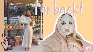 I'M BACK WITH A BABY - RUBA ZAI weekvlog 1