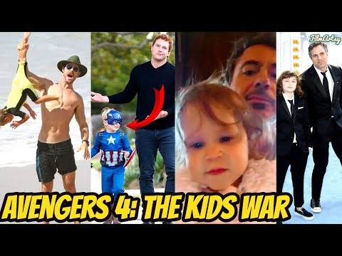 Avengers Kids Funniest Reaction On Their Parents Being Superheroes Try Not To Laugh 2018