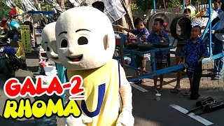 GALA-GALA RHOMA Cover Oklik Bojonegoro UPIN & IPIN New Laras Pandowo Ngamen Sing Penting Halal CFD