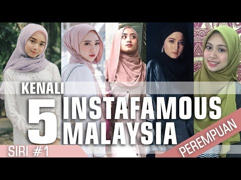 Xxx Mp4 Kenali 5 Gadis Instafamous Malaysia Siri 1 3gp Sex