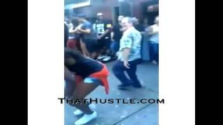 OG Pollard Old White Dude Dancing Black Funny Hip Hop Vine - Dat Ass