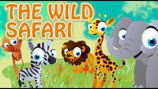 World Of Wild Animals | Jungle Safari | 2D Animated