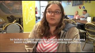 Restoran Mayasari Indonesian Grill - Liputan Diaspora VOA
