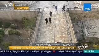 مراسلة القدس: جنود الاحتلال متواجدين لتفتيش الفلسطنيين