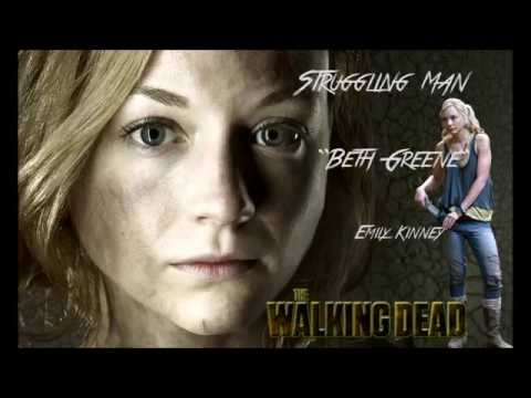 "The Walking Dead -Struggling Man- ""Beth Greene""- Emily Kinney- Full Version."