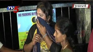 Hijra thief Midnight Hulchul | Jubilee Hills  : TV5 News