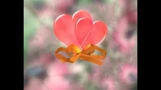 Футаж 2 Сердца