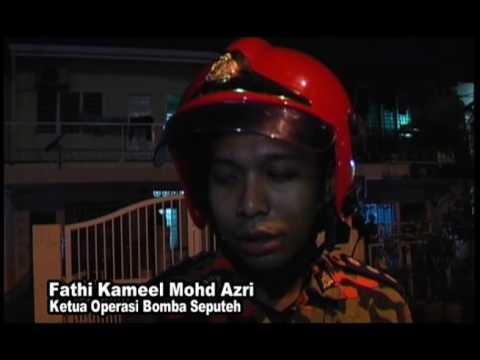 MKL Crimedesk | Serbuk Klorin Bocor & Meletup Dikawasan Perumahan