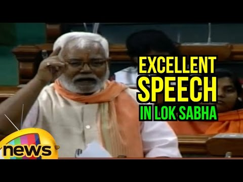 Hukmdev Narayan Yadav Excellent Speech In Lok Sabha | Tears Into Congress | PM Modi | Mango News