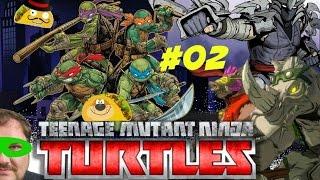 Teenage Mutant Ninja Turtles: Mutants in Manhattan #02 PS4 Gameplay TacoBay07