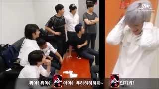 [Arabic Sub] Super Junior 'MAMACITA' Music Video Event!! - SJ Behind