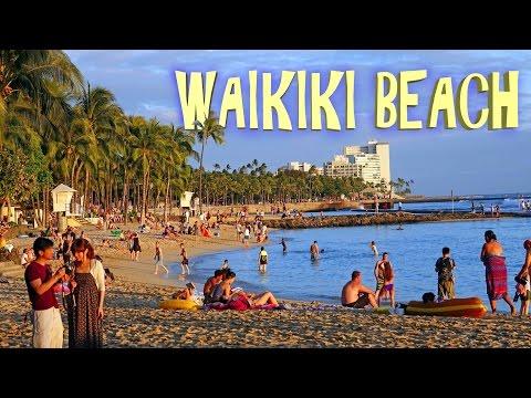 Waikiki Beach, Honolulu - 2016 4K