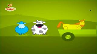 Louie's World - Animals and The farmer in the Dell Song | Daily BBTV
