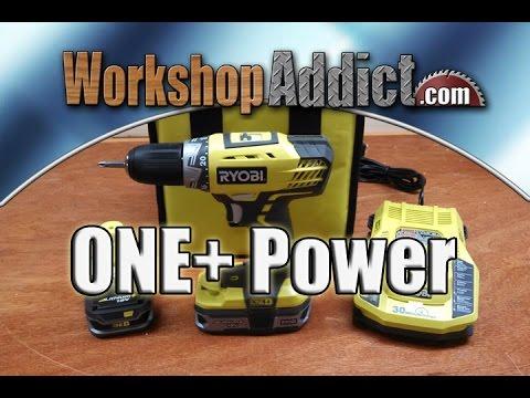 Ryobi ONE+ 18 Volt Lithium+ Drill/Driver Kit - P818