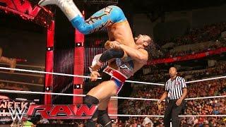 Sin Cara vs. Rusev: Raw, May 9, 2016