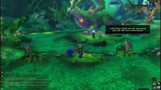 WoW quest - The Emerald Queen