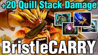 +20 Quill Stack Damage - BristleCARRY - Meracle - Dota 2