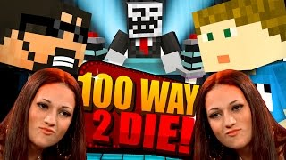 Minecraft: 100 WAYS TO DIE CHALLENGE - CASH ME OUTSIDE HOW BOW DAH