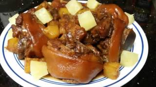 Hamonadong Pata Recipe