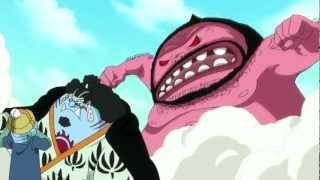 One Piece Amv Sanji & Jimbei vs Wadatsumi (Millennium Stratovarius) Complete Fight