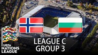 Norway vs Bulgaria - 2018-19 UEFA Nations League - PES 2019