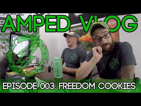 Amped Vlog Episode 003 - Freedom Cookies & Blue Diamond Group Fun