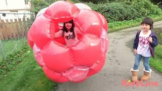 ギガボール 大きな ボール GIANT BALL こうくんねみちゃん gigaball inflatable