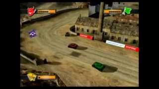 Mashed: Fully Loaded (PS2) Multiplayer: Battle Game #1