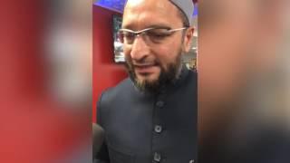 Asaduddin Owaisi on demonetisation: ATMs not running in muslim areas (BBC Hindi)