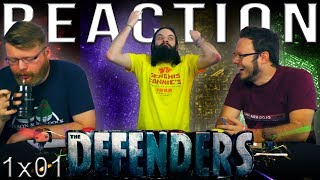 Marvel's The Defenders 1x1 REACTION!!