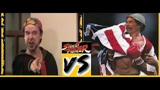 Kiko vs Don Ramón | Street Fighter | Chavo del 8
