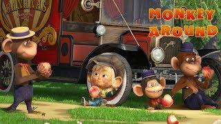 Masha and The Bear - Monkey Around 🐒(Monkey Business) 🔥 New song!