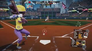 Super Mega Baseball 2 Gameplay - Elephants vs Felines - Apple Field Exhibition SMB2 Xbox One