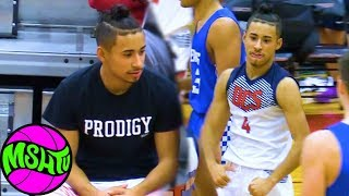 Julian Newman Drops 30 with Zion and Jaden courtside at the 2019 Grind Session