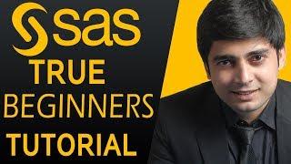 SAS Tutorials for beginners - SAS Programming Training DAY 1