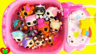 LOL Surprise Pets Wash Time Toy Video