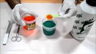 How to make Sensitizer liquid and add Sensitizer # Sonakote Screen Printing Hindi