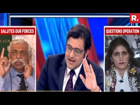 Xxx Mp4 Shabnam Lone Vs GD Bakshi India Crushes Lashkar The Debate 3gp Sex