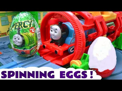 Thomas and Friends Surprise Eggs and Kinder Surprise Egg Surprise Toys Thomas & Friends Eggs Sodor