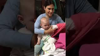 Angelina y su momento Baby Party