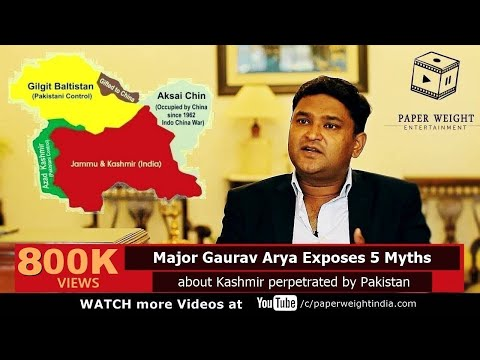 Xxx Mp4 Major Gaurav Arya Exposes 5 Myths About Kashmir Perpetrated By Pakistan A Soldier Speaks 3gp Sex