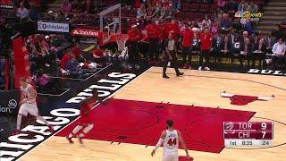 Quarter 1 One Box Video :Bulls Vs. Raptors, 10/12/2017