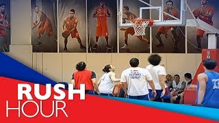Gilas Pilipinas holds practice before flying to Iran