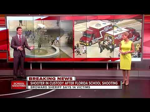 Xxx Mp4 Broward Sheriff Says 14 Victims In High School Shooting 3gp Sex