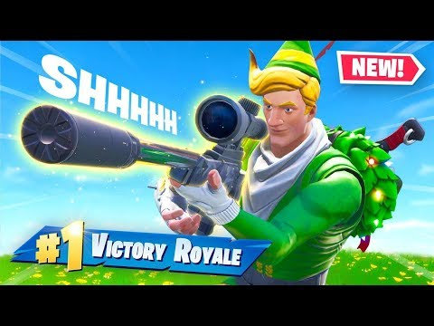 NEW Super Sneaky Silenced Sniper